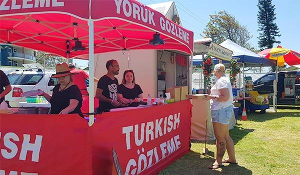 Festival Food Stalls