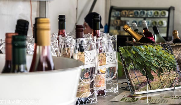 Food and Wine at Lakeside Festival